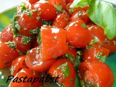 Tomatensalat -Kräuterig-Fruchtig - Rezept