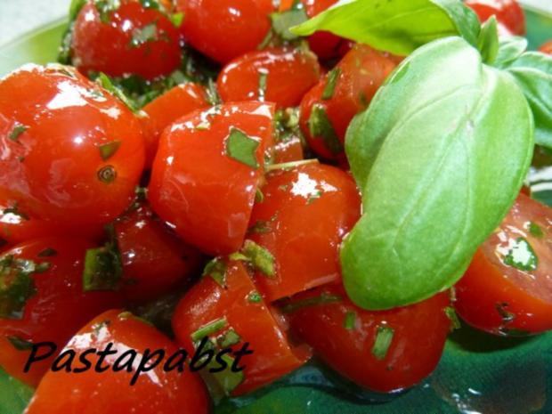 Tomatensalat -Kräuterig-Fruchtig - Rezept - Bild Nr. 3