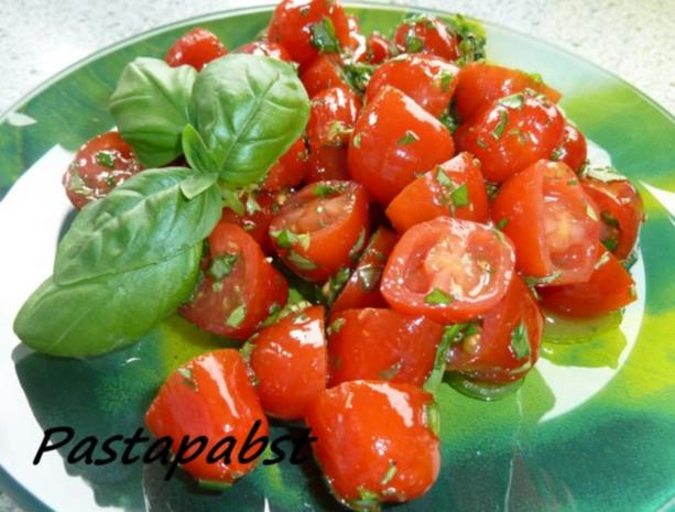 Tomatensalat -Kräuterig-Fruchtig - Rezept - Bild Nr. 4