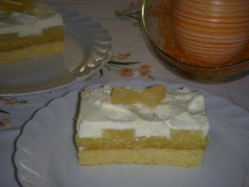 Rezept: PINA-COLADA-SCHNITTEN