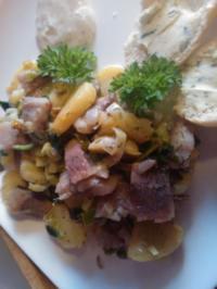 Bratkartoffel-Matjes-Salat - Rezept