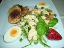"Enikö´s ""15 Kilos müssen runter"" Salat mit Dijon Dressing - Rezept"