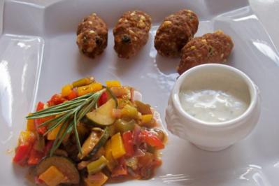 Feta-Hackfleisch-Röllchen - Rezept