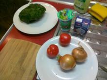 Frischer Spargel mit Schnitzel und Bärlauchsoße dazu Butterkartoffeln - Rezept
