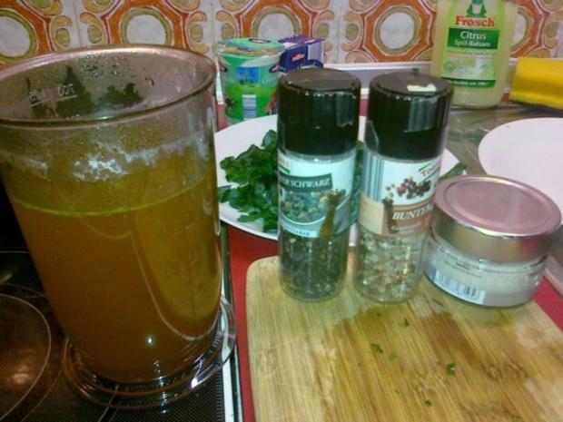 Frischer Spargel mit Schnitzel und Bärlauchsoße dazu Butterkartoffeln - Rezept - Bild Nr. 4