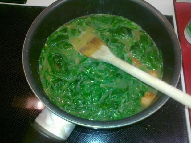 Frischer Spargel mit Schnitzel und Bärlauchsoße dazu Butterkartoffeln - Rezept - Bild Nr. 6