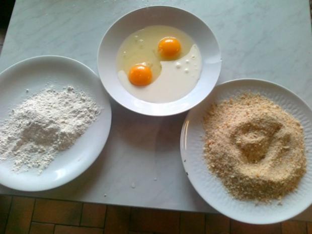 Frischer Spargel mit Schnitzel und Bärlauchsoße dazu Butterkartoffeln - Rezept - Bild Nr. 27