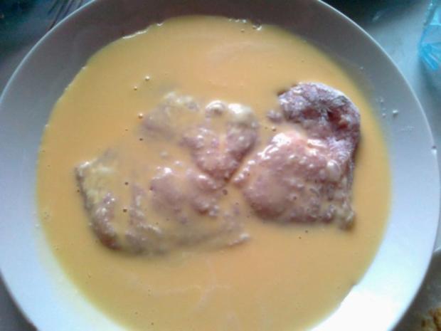 Frischer Spargel mit Schnitzel und Bärlauchsoße dazu Butterkartoffeln - Rezept - Bild Nr. 29