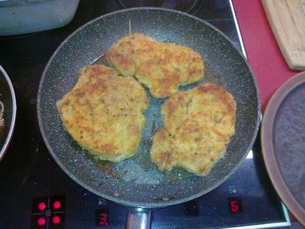 Frischer Spargel mit Schnitzel und Bärlauchsoße dazu Butterkartoffeln - Rezept - Bild Nr. 31