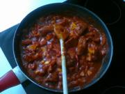 Curry – Frikadelle mit Paprika - Rezept