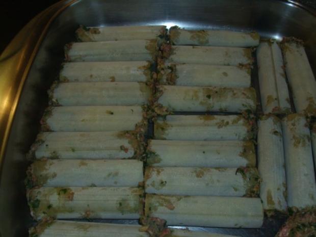 Cannelloni mit Hack-Spinat Füllung - Rezept - Bild Nr. 5