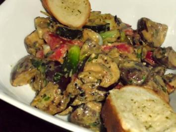 Rezept: Salat von gegrilltem Gemüse