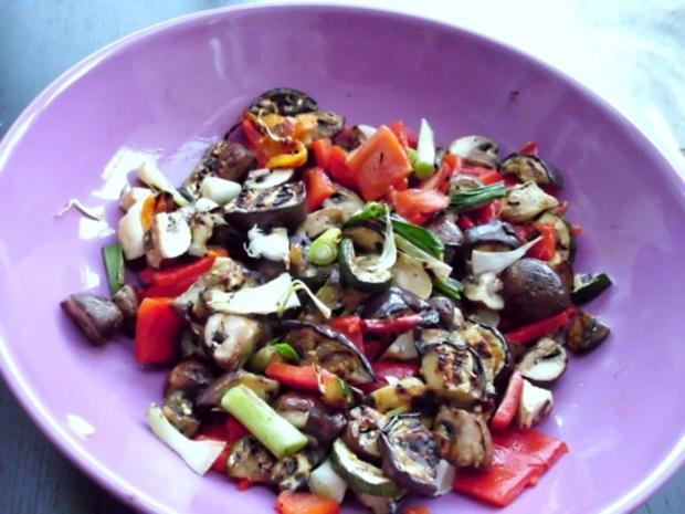 Salat von gegrilltem Gemüse - Rezept - Bild Nr. 9