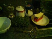 Kresse-Sesambutter - Rezept