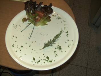 Kleine Filetstücke mit Blumenkohl und Knödel - Rezept