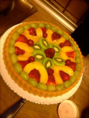 Obstkuchen Mit Für Den Teig Und Zucker Rezept Mit Bild Kochbarde