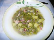 Grüne Bohneneintopf - Rezept