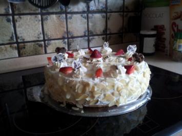 Erdbeer-Joghurt-Torte - Rezept