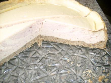 Preiselbeer-Käse-Zebrakuchen>> - Rezept