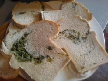 Pane Italiaans (Kaese-Kraeuter-Brot) z. B. zum Grillen - Rezept