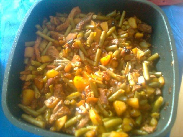 Bohnen-Puten-Pfännchen - Rezept - Bild Nr. 3