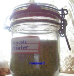 Rezept: Gewürz: Kräutersalz mit Bärlauch