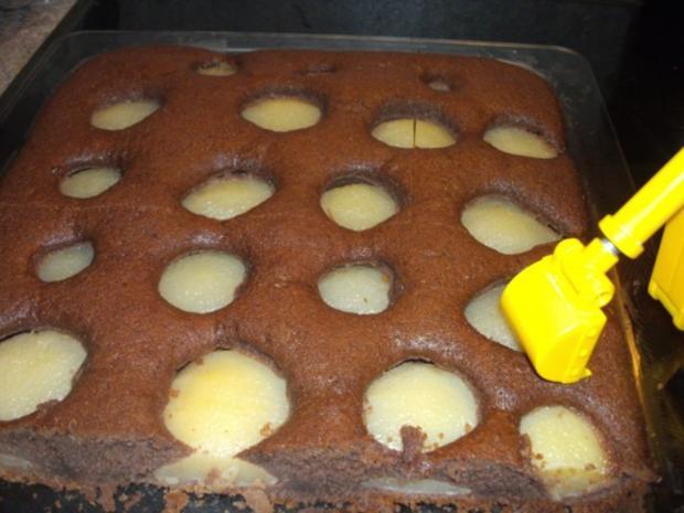 backen / Kuchen: versunkener Birnenkuchen - Rezept - Bild Nr. 2