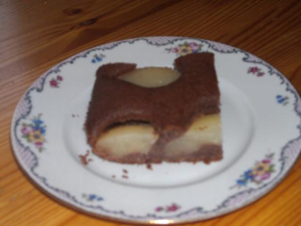 backen / Kuchen: versunkener Birnenkuchen - Rezept - Bild Nr. 5
