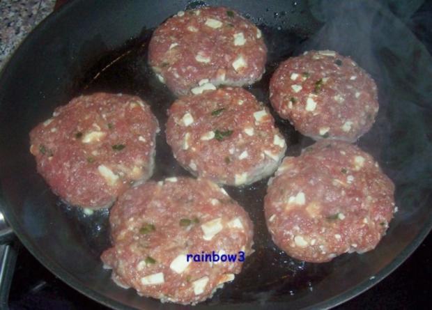 Kochen: Frikadellen mit Feta - Rezept - Bild Nr. 3
