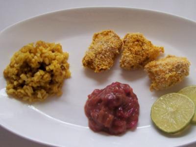 Kokos-Limetten-Hähnchen im Ofen gegart - Rezept