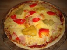 Original Pizzateig schnell zubereitet - Rezept