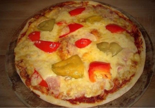 Original Pizzateig schnell zubereitet - Rezept - Bild Nr. 4