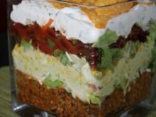 Nacho Salat - Rezept