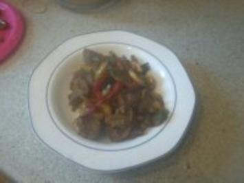 Rindfleisch-Gemüse-Pfanne - Rezept
