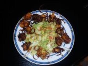 Rezept: Garnelen im Kartoffelmantel