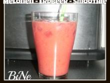 BiNe` S MELONEN - ERDBEER - SMOOTHIE - Rezept