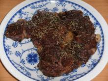 Fleisch: Rindersteak - Rezept