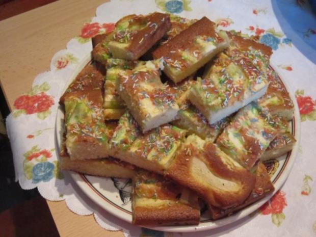 Tassenkuchen mit Obst - Rezept