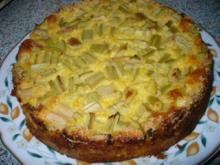 Rhabarberkuchen Nr. 2 - Rezept