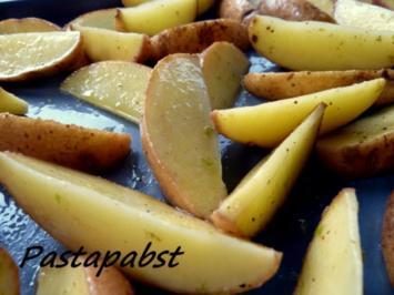 Rezept: Kartoffelspalten