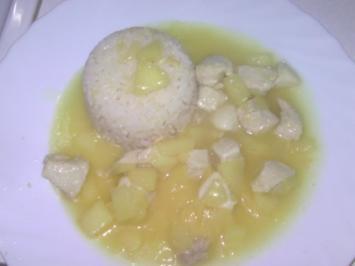 Apfel-Ingwer-Sauce mit Huhn - Rezept