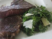 Zweierlei Steak vom Galloway NT - Rezept