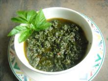 Giersch - Pesto - Rezept