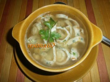 Kräuter - Flädle - Suppe - Rezept