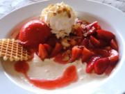 Erdbeer- Romanoff- Marcos - Rezept