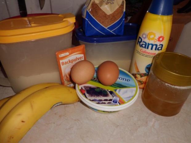 Muffins: Bananen-Mascarpone-Küchlein - Rezept - Bild Nr. 2