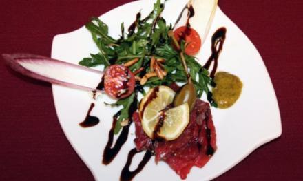 Carpaccio vom Rind mit Rucola und Parmesan - Rezept