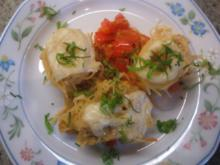 Pasta: Capelli d´ Angelo con Verdure di Pomodoro e Peperoni - Rezept