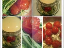 Gurkensalat als Gurkenspaghetti mit karamelisierten Cherrytomaten - Rezept - Bild Nr. 14
