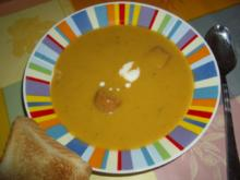 Kürbis - Zucchini Suppe - Rezept